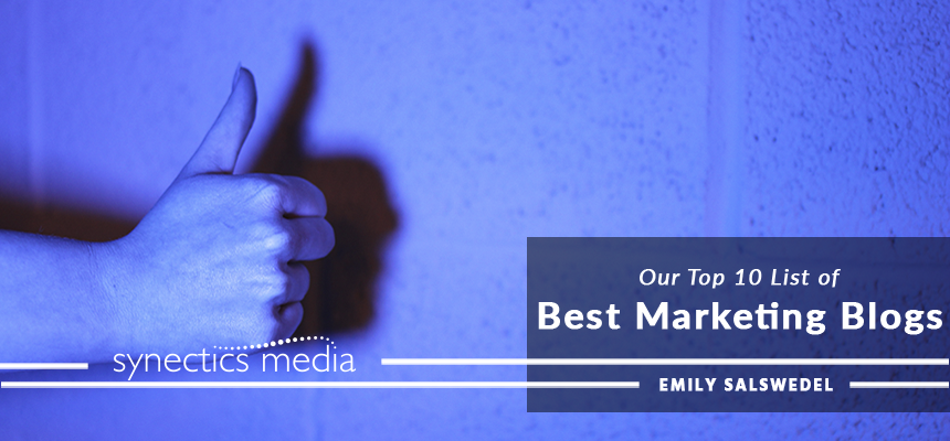 Our Top 10 List of the Best Marketing Blogs