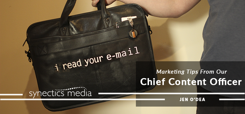 Marketing Tips from our Chief Content Officer