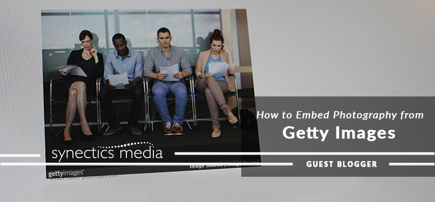 How to embed photography from Getty Images