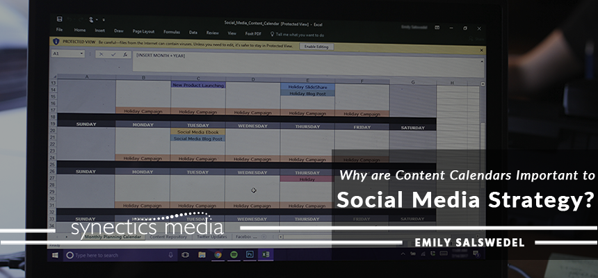 Why Are Content Calendars Important To Social Media Strategy